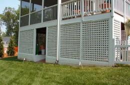 Lattice Porch