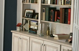 Custom (Faux painted) Bookcase