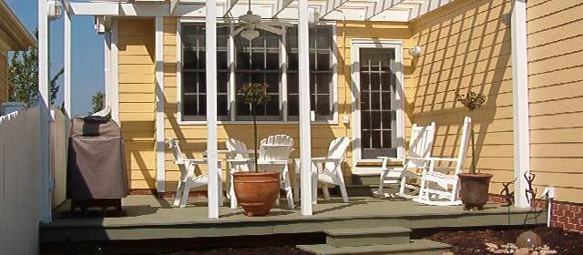 Pretty Porch & Gate
