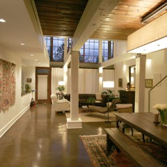 Contemporary Riverfront Loft – Full Up-fit